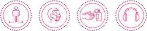 Protocols i mesures higièniques i sanitàries per evitar la pandèmia de coronavirus al turisme Oh my guide! Barcelona empresa certificada Covid-19 free